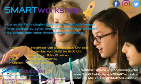 SMARTworkshops im November und Dezember
