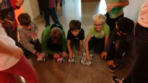 Elektronik + Robotik | ROBO-RACE als Highlight